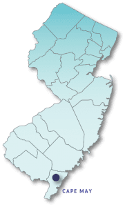 Cape May County map