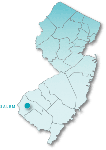 Salem County map